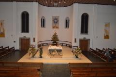 Inside St Aidan's