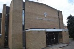 Outside St Aidan's