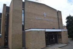 Outside St Aidan's